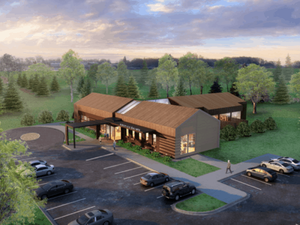 The Hospice Quinte Care Centre Architect Rendering