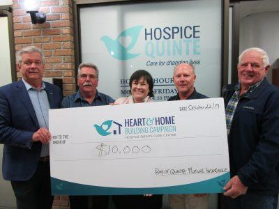 BOQ Mutual Insurance Donation