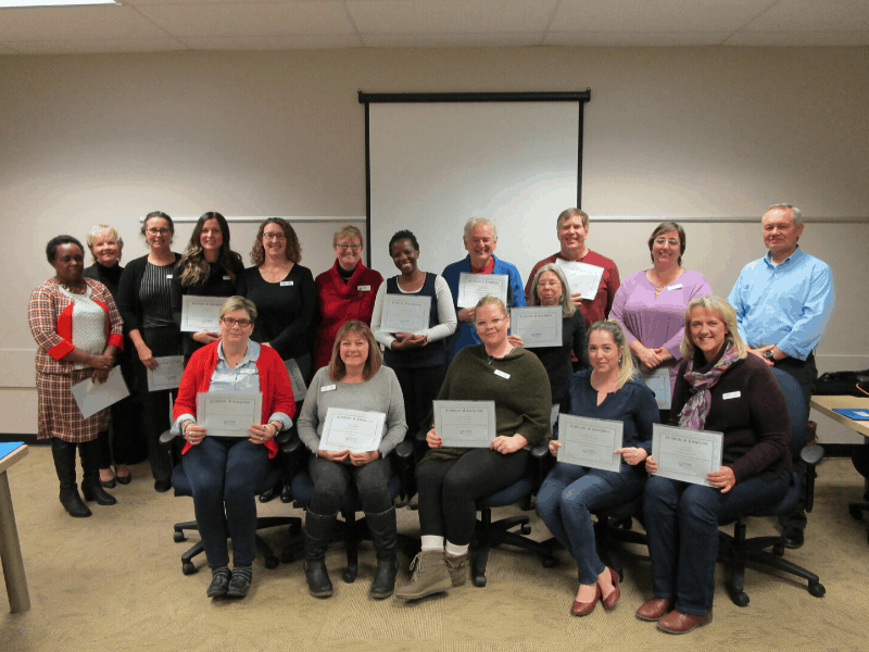 visiting volunteers graduates november 2019