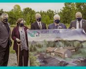 Hospice Quinte Representatives with Local Dignitaries